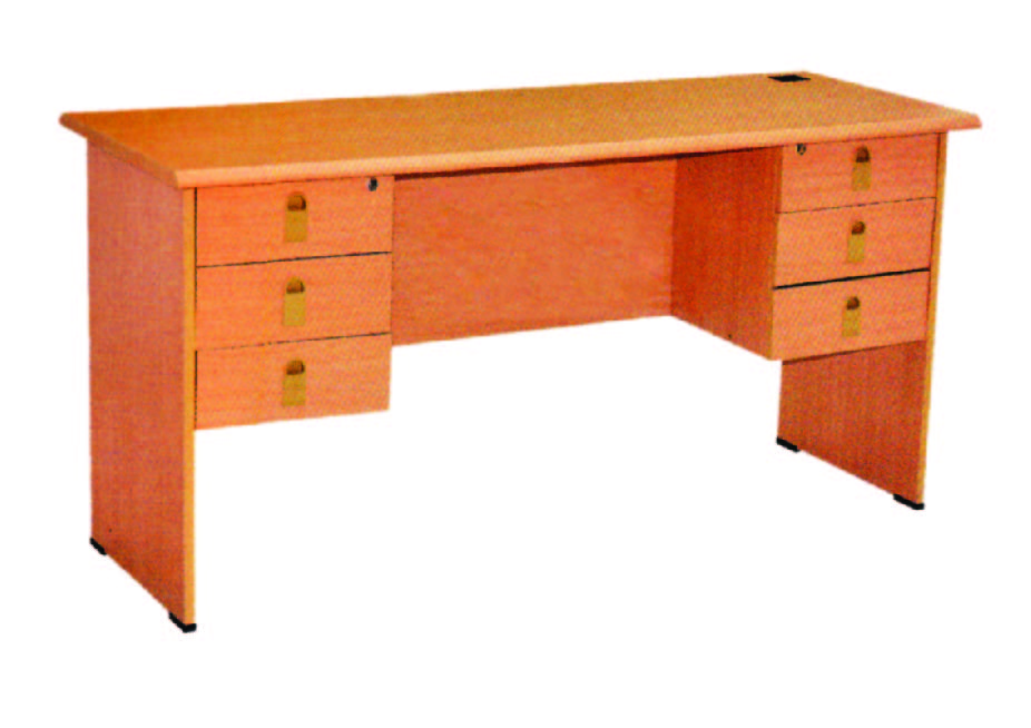 Office Desk With 6 Drawer